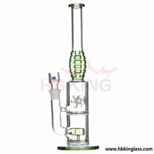 9 Ice Notches Inline Glass Water Pipe pictures & photos