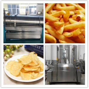 Africa Hot Sell Automatic Potato Chips Making Machine pictures & photos