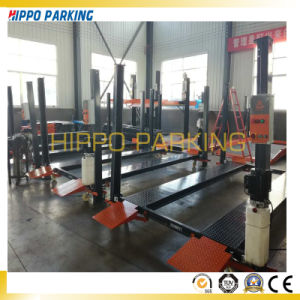 China Two Cars Parking Lift, Movable 4 Post Car Parking Lift pictures & photos