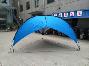 Beach Umbrella Shelter. This Shelter Is Quick and Easy Shade Solution for The Beach, Camping pictures & photos