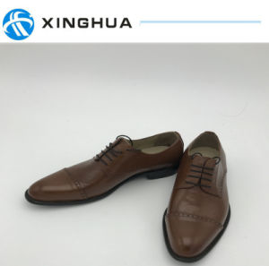 Hand Make Shoes in Genuine Leather for Office Shoes pictures & photos