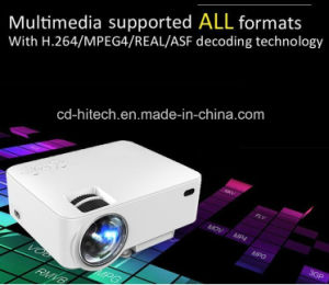 3D New Arrival! ! ! Ptp200 Full HD! ! ! 1080P 3D Home Theater LED Projector