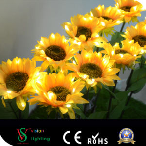 Holiday Decoration Lighting Flower LED Sunflower Light pictures & photos