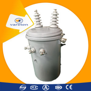 Pole Mounted Single Phase Oil Distribution 10 kVA Transformer pictures & photos