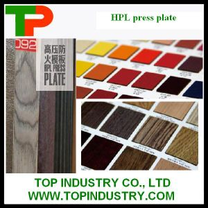 Decoration Used for HPL Press Plate pictures & photos