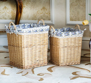 Eco-Friendly Handmade Natural Willow Flower Basket (BC-ST1220) pictures & photos