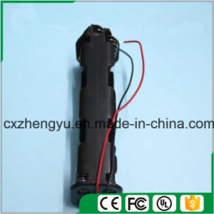 8AA Battery Holder with Red/Black Wire Leads (Long Type) pictures & photos