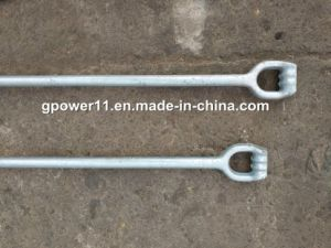 Forged Thimble Eye Anchor Rod Earth Rod pictures & photos