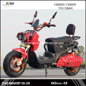 72V 1000W Vespa Electric Scooter Moped, 2 Wheel Electric Standing Scooter with Pedal pictures & photos