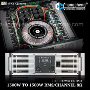 Tx Series High Power Class H Professional Power Amplifier pictures & photos