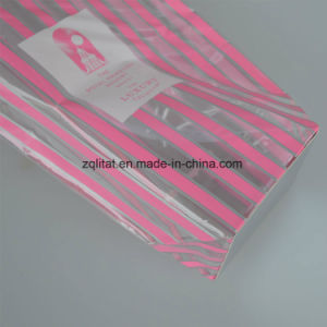 BOPP Poly Plastic Bag with Hard Bottom Card pictures & photos