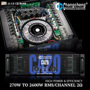 High Power Ca20 Series Tier 3 Class H Professional Power Amplifier pictures & photos
