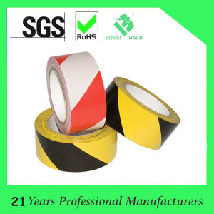 White/Red Color PVC Marking Tape pictures & photos