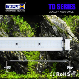 Ultra-Thin Adjustable Aquatic LED Aquarium Lighting for Fish Tank pictures & photos