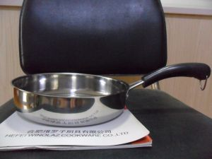 Stainless Steel 3PCS Fry Pan Set Egg Fry Pan pictures & photos