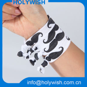Custom Fabric Printing Polyester Elastic Party Band for Headdress