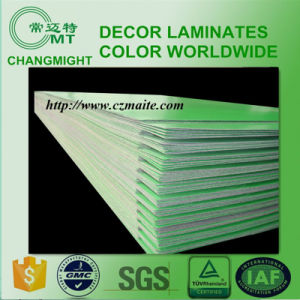 Texture Green High Pressure Laminate (HPL 0.7mm) pictures & photos
