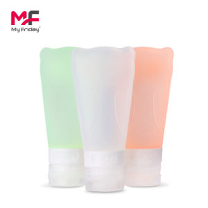 Travel Kit for Airline Mini Silicone Plastic Bottle for Shampoo pictures & photos