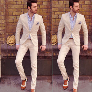 Men′s Leisure Classic Style Suit High Quality Wool Suit pictures & photos