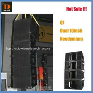 """Q1 Two-Way Loudspeaker Two 10"""" Mobile Project Indoor or Outdoor Audio pictures & photos"""