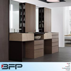 Luxury Waterproof with Drawers Bathroom Cabinet Double Basin pictures & photos