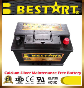 Sealed Maintenance Free Customized Car Battery 12V66ah (48R-639) pictures & photos