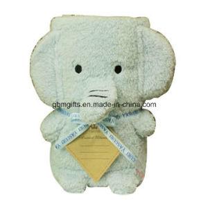 Mutipurpose Soft Velvet Skin Friendly Clever Animal Head Boutique Baby Blanket
