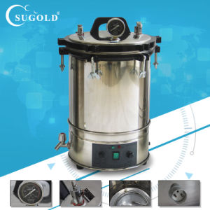 Automatic Microcomputer Type Portable Pressure Steam Sterilizer (YX-18HDD/YX-24HDD) pictures & photos