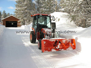 Tractor Snow Blade Sn Bl Ce Certificate
