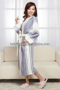 Shawl Collar Hotel Terry Bathrobe pictures & photos