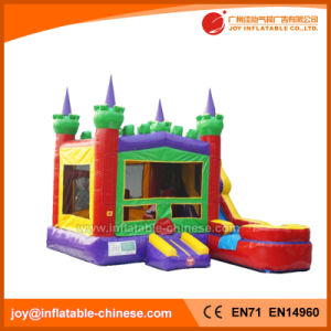Inflatable Princess Bouncy Slide Combo Castle with Pool (T2-200) pictures & photos