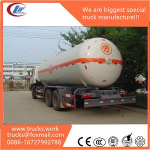 25mt 59600liters 59.6cbm LPG Tanker 59.6 M3 LPG Tank Trailer pictures & photos