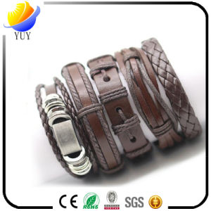 Fashion PU Leather Bracelet for Promotion Gifts Both for Women & Men pictures & photos