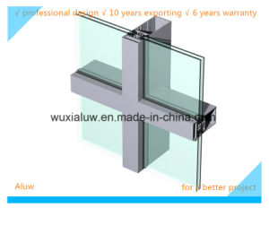 Envrimental Friendly Visible Curtain Wall pictures & photos