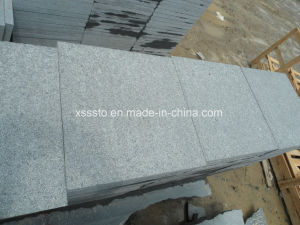 Flamed China Dark Grey Granite G654 Tiles Slabs Steps pictures & photos