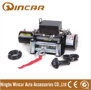 Capacity 13000lbs Vehicle/Tractor Winch Small Electric Winch 12V for Truck