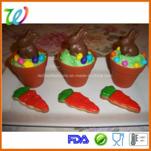 Factory Wholesale Plant Pot Big Silicone Cupcake Pan