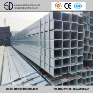 Galvanized Steel Pipe/Gi Square Steel Pipe/Tube Structure Building Material Manufacturer pictures & photos