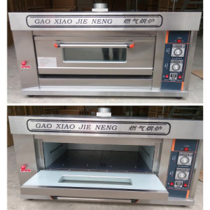Commercial Gas Deck Oven Machine Bakery Equipment for Baking 1deck 1tray pictures & photos