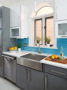 Wholesale Flat Package Kitchen Cabinets pictures & photos