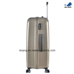 China Factory Price Aluminum Trolley Luggage with 4 Wheels pictures & photos