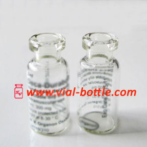 Name Brand Deca Printing for 2ml Clear Glass Vial High Quality pictures & photos