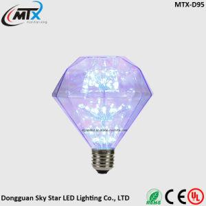 G95 3W Warm White Energy Saving LED Decorative Diamond Bulb pictures & photos