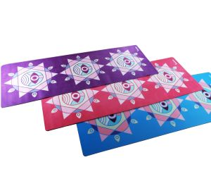 High Quality Anti-Slip Yoga Mat Sports Mat with Design pictures & photos