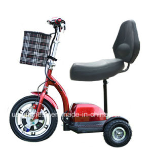 Mini 3 Wheels Electric Mobility Scooter for Handicapped pictures & photos