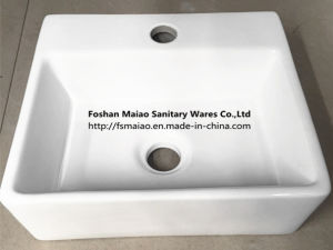 Ceramic Wall Hung Bathroom Basin (006) pictures & photos