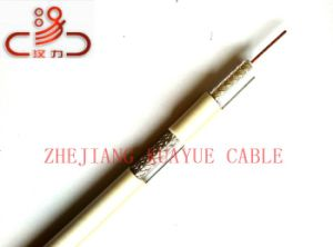 Double Wire 75mho Rg59 Coaxial Cable/Computer Cable/Data Cable/Communication Cable/Audio Cable/Connector pictures & photos