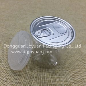 Plastic Pet Container with Aluminum Easy Open End pictures & photos