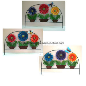 New Metal Flower Fence Garden Decoration