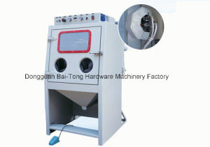 Sandblasting Machine with Roller Basket 9080d Especially for Small Parts pictures & photos